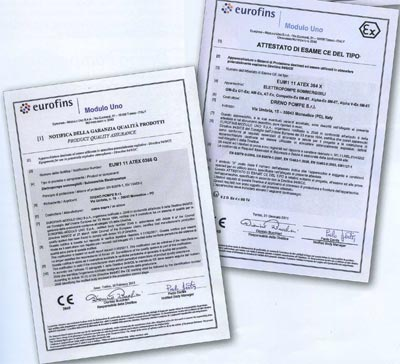 Сертификация по стандарту UNI EN ISO 9001:2008